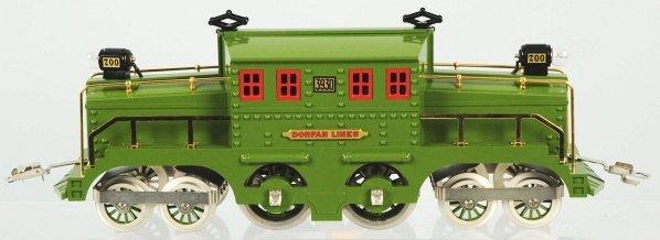 105: Cast Metal Dorfan No. 3930 Crocodile Train Engine