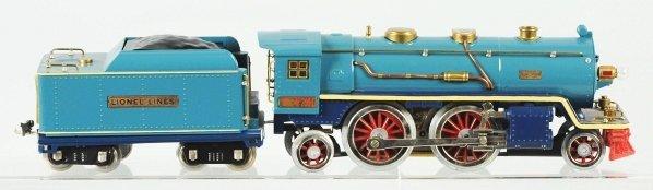 118: Lionel No. 390 Train Engine & Tender.