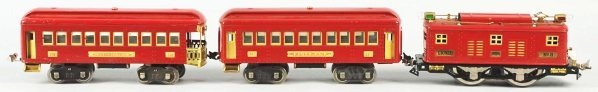 126: Lionel Standard Gauge No. 8 Passenger Train Set. - 2
