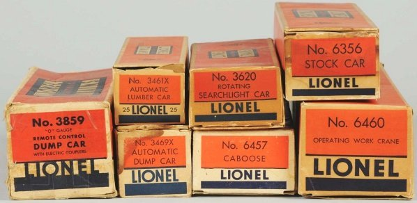 335: Lot of 7: Lionel Freight Cars. - 3