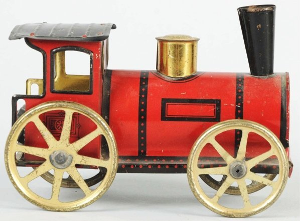 420: Tin Litho Wind-Up Train Engine.