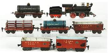458: Marklin O-Gauge Freight Train Set.