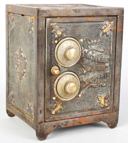 705: Cast Iron Safety Deposit Still Bank.