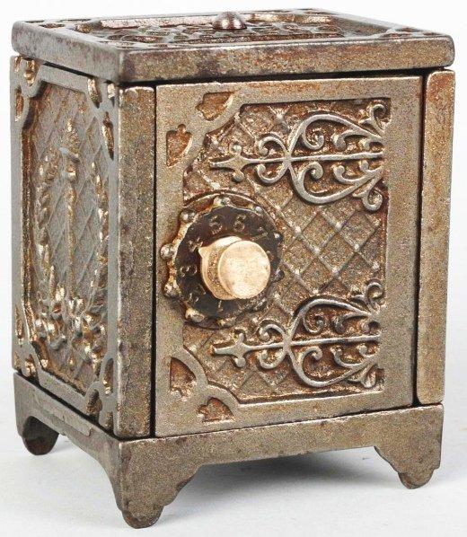 713: Cast Iron Kenton Savings Deposit Still Bank.