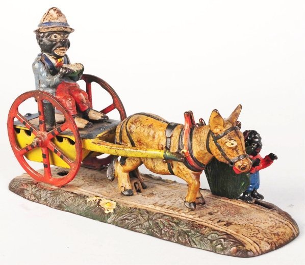 773: Cast Iron Bad Accident Mechanical Bank.