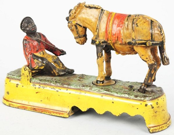 792: Cast Iron Always Did Spise a Mule Mechanical Bank