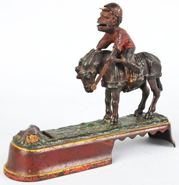 793: Cast Iron Always Did Spise a Mule Mechanical Bank