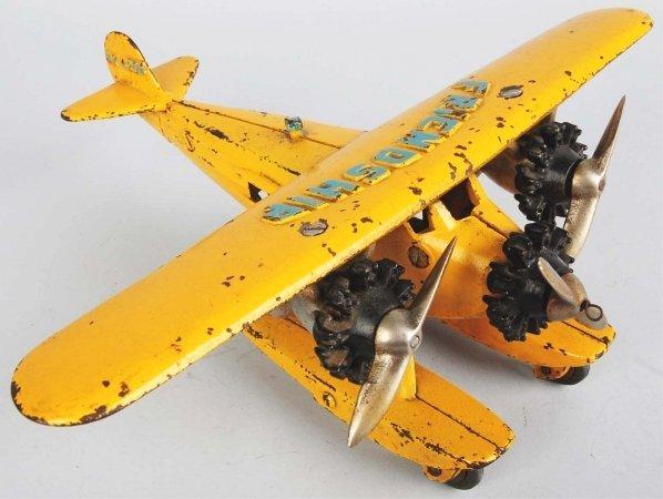 905: Cast Iron Friendship Tri-Motor Pontoon Airplane.
