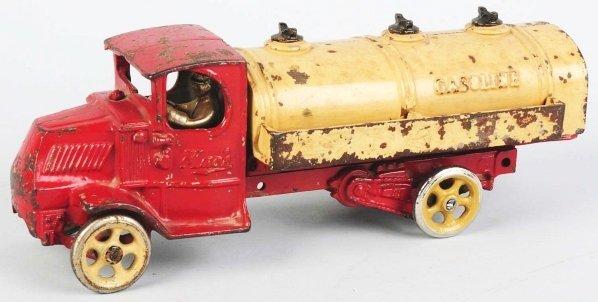 921: Cast Iron Arcade Gasoline Truck Toy. - 2