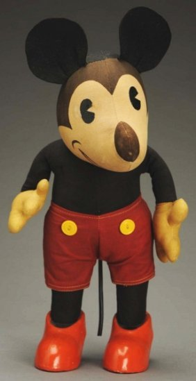 Walt Disney Knickerbocker Mickey Mouse Doll.