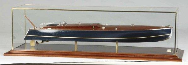 """1155: 1923 Racing Boat """"Tornado"""" Model."""