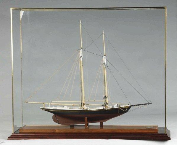 """1156: 1902 Schooner """"Benjamin Latham"""" Model."""