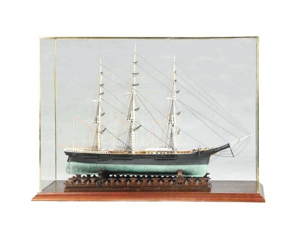"""1157: 1852 Clipper Ship """"Queen of Clippers"""" Model."""