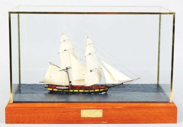 "1160: Wooden Model Boat ""Niagara"" by David Kolaga."