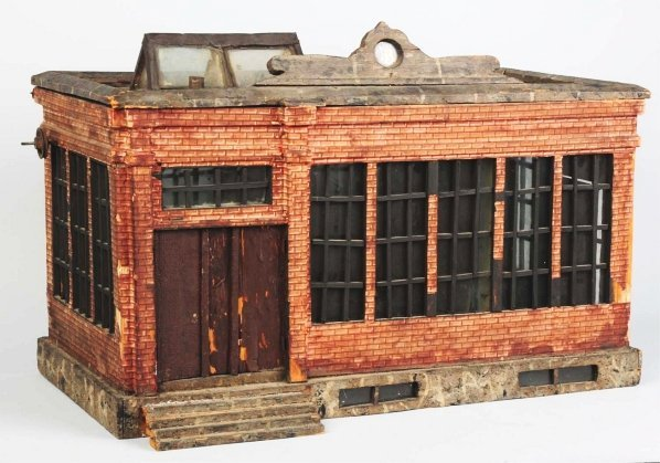 1164: Early Paper on Wood Bliss Factory Building.