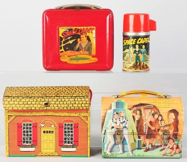 1176: Lot of 3: Vintage Lunch Boxes.