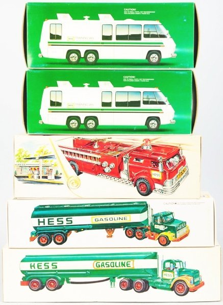 1213: Lot of 5: Hess Vehicle Battery-Operated Toys. - 3