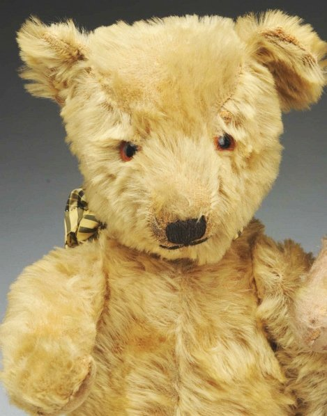 1268: Lot of 2 Mohair Bears. - 2
