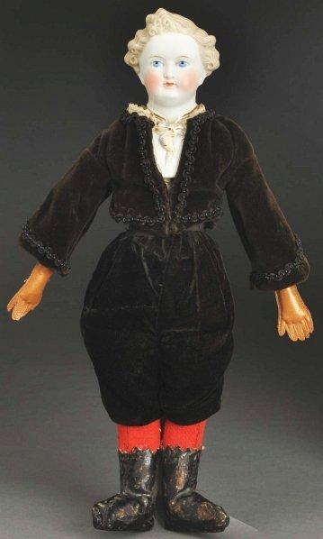 1313: Parian Man Doll.