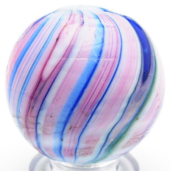 65: Striking & Unusual Banded Opaque Marble.