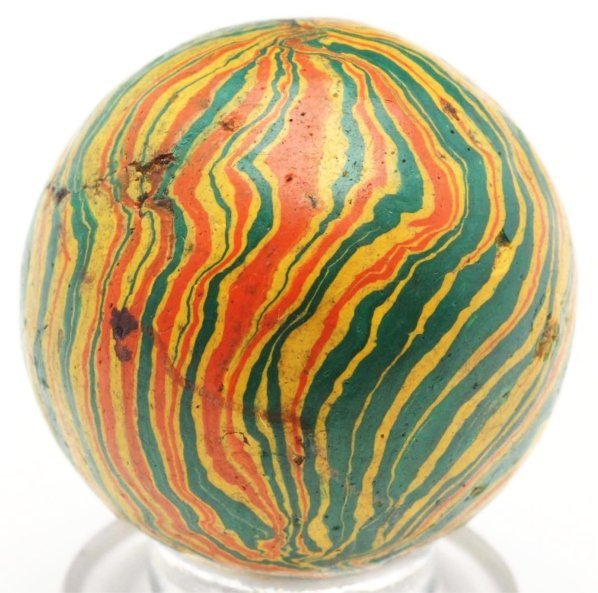 68: Gutta Percha (Paper Mache) Marble.