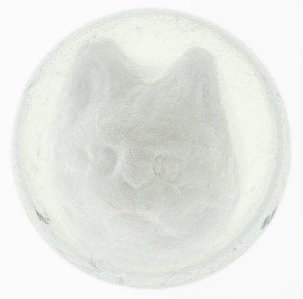 366: Rare Cat Head Sulphide Marble.
