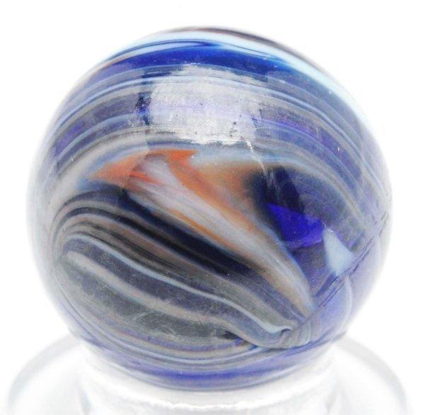 377: Christensen Agate Blue Ray Marble.