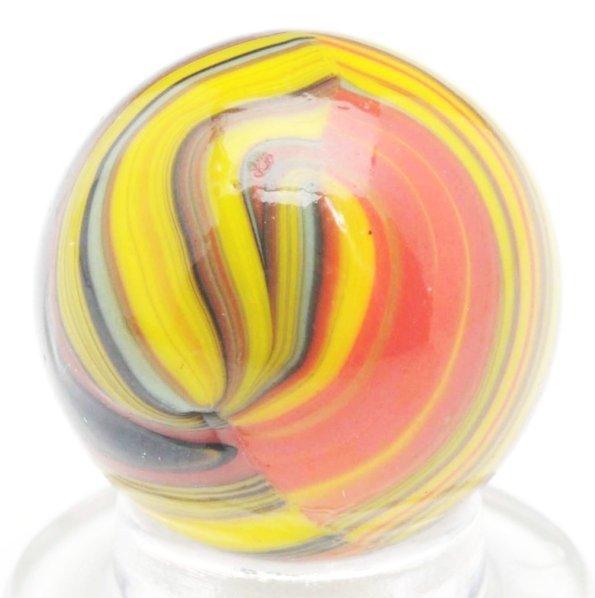 381: Christensen Agate Striped Opaque Marble.