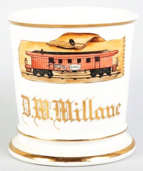 23: US Mailman's Shaving Mug.