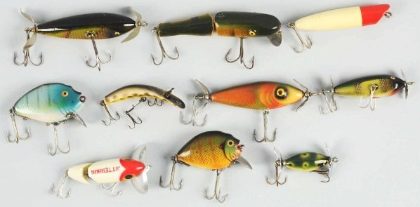 139: Lot of 10: Fishing Lures.