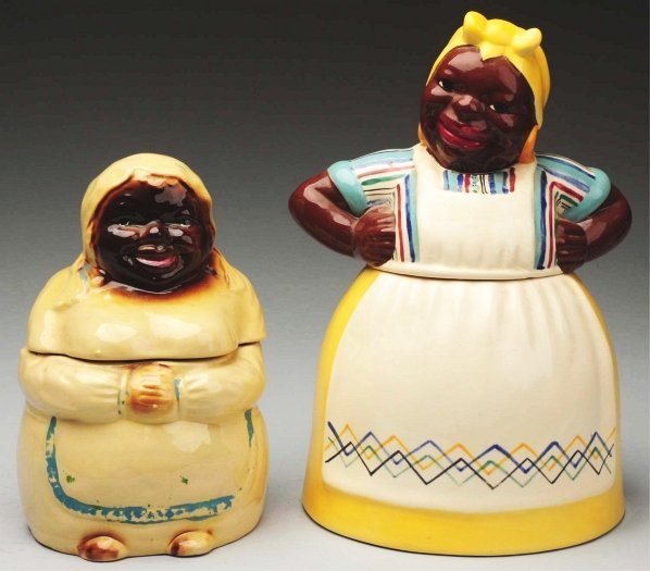 470: Lot of 2: African American Cookie Jars.