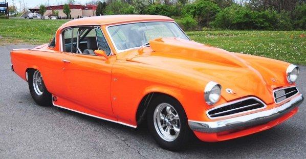 601: 1953 Studebaker Champion Pro Street 2-Door Car.