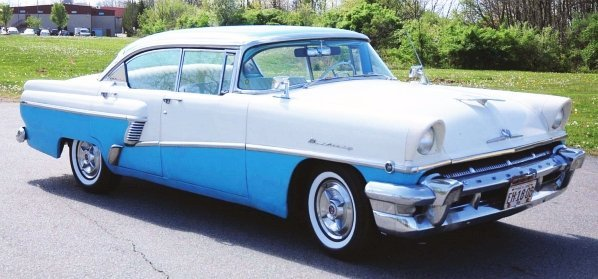 603: 1956 Mercury Phaeton 4-Door Hard Top Car.
