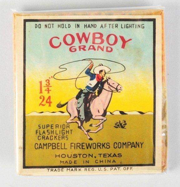 4: Cowboy Grand 24-Pack Firecrackers.