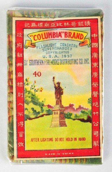 "6: ""Columbia"" Brand 40-Pack Firecrackers."