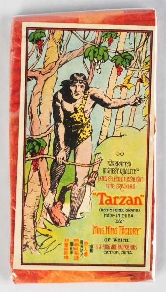 7: Tarzan 50-Pack Firecrackers.