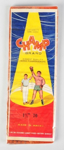 "18: Champ 70-Pack 1 - 1/2"" Firecrackers."