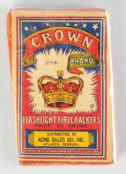 22: Crown 16-Pack Firecrackers.