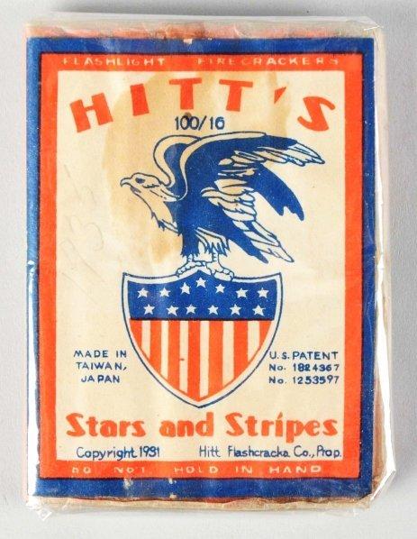 23: Hitt's Stars & Stripes 16-Pack Firecrackers.