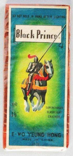 """97: Black Prince 60-Pack 1 - 5/8"""" Firecrackers."""
