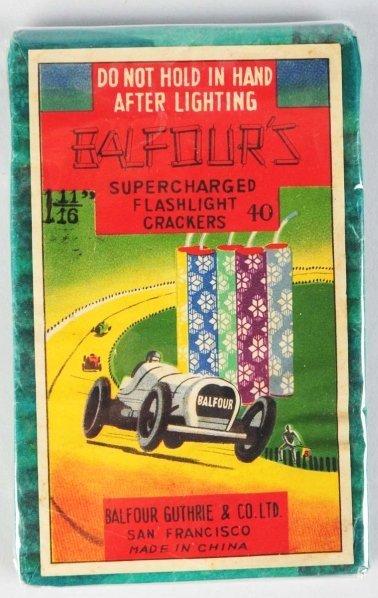 "362: Balfours 40-Pack 1 - 11/16"" Firecrackers."