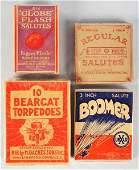 589 Lot of 4 Firecracker Packs