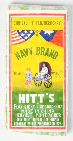 704: Navy Brand 50-Pack Firecrackers.