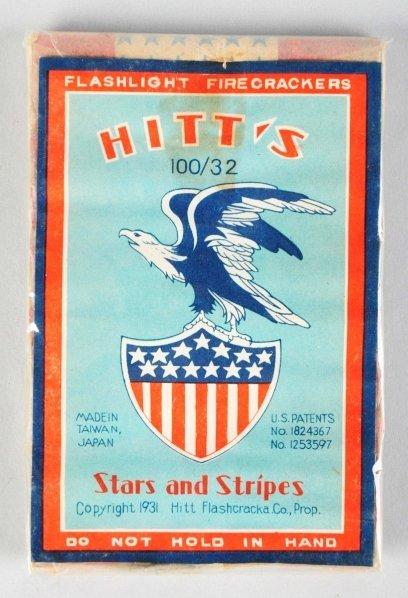 706: Hitt's Stars & Stripes 32-Pack Firecrackers.