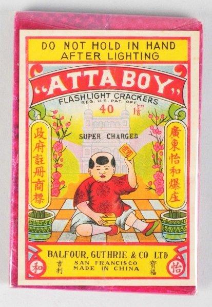 710: Atta Boy 40-Pack Firecrackers.