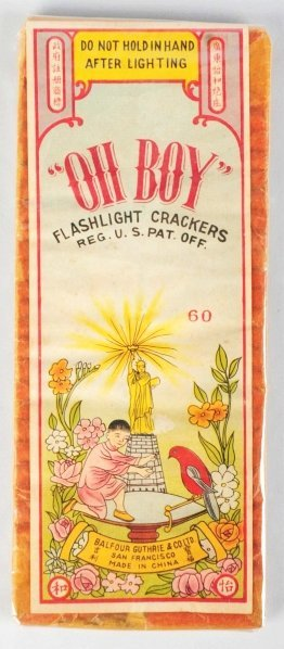 711: Oh Boy 60-Pack Firecrackers.