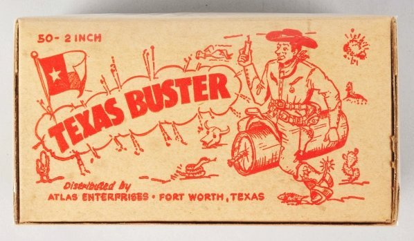 """712: Texas Buster 2"""" Firecracker 50-Pack."""