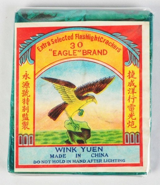 "713: ""Eagle"" Brand 30-Pack Firecrackers."
