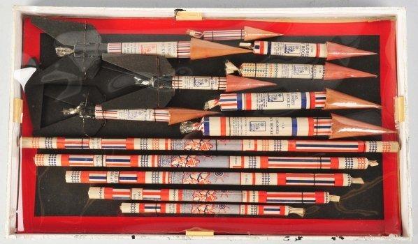 722: Salesman's Sample Firecracker Board.