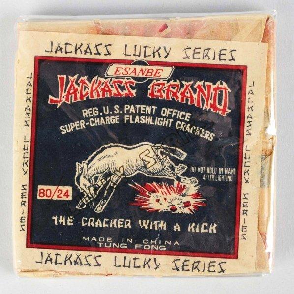 723: Jackass Brand 24-Pack Firecrackers.